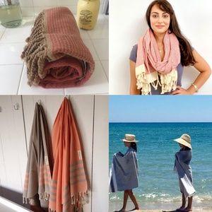 Tunisian Towel  Beach Throw Scarf Wrap